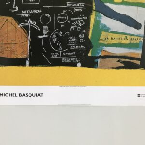 Basquiat untitled poster detail