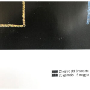 Jean Michel Basquiat Mona Lisa poster cm98x120 roma exposition