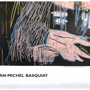 Jean Michel Basquiat Mona Lisa poster cm98x120 title