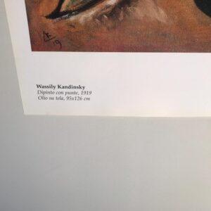 Kandinski Chagall Malevic Dipinto con punte parte 01