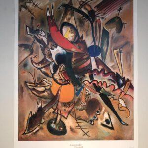 Kandinski Chagall Malevic Dipinto con punte parte