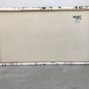 Mart Signed Arcangelo 01 2020 Wall 81x140 Acrylic and mixed media on canvas retro