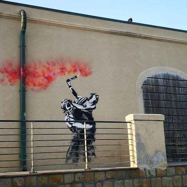 Mart Signed Street Art Ratto delle sabine