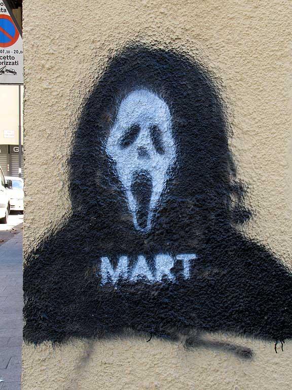 Mart Signed - Street Artwork - Mask