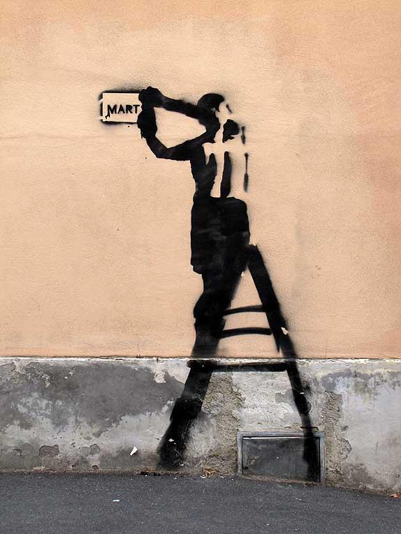 Mart Signed - Street Artwork murales