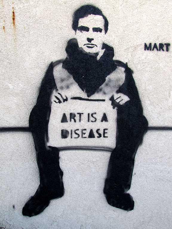 Modigliani by Mart Signed