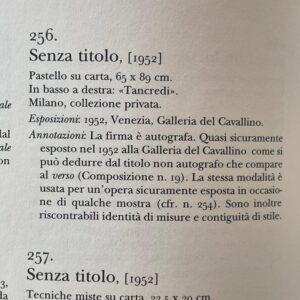 Catalogo Opere Tancredi Parmeggiani Allemandi Editore Numero 256 Senza Titolo