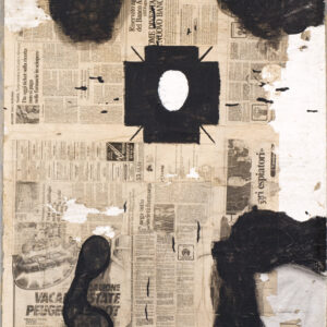 Bruno Ceccobelli Venerata terra 1983 artwork