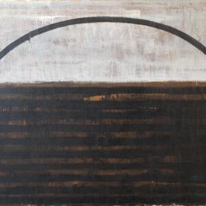 Piero Pizzi Cannella Ferro Olio su tela 1987:88 150x180cm artwork